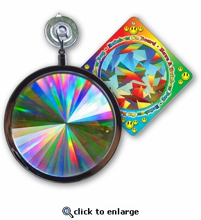 Sun Catcher - Axicon Rainbow Window Suncatcher - Includes a Bonus