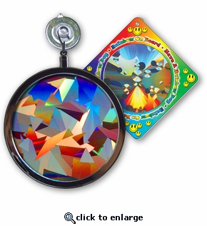 Sun Catcher - Crystal Rainbow Window Sun Catcher -  Includes a Bonus