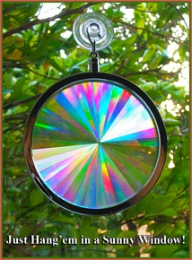 Suncatchers & Solar Rainbow Makers