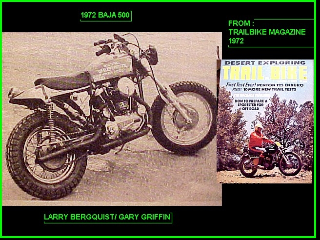 1972 BAJA 500 - WORLDS BIGGEST DIRTBIKE