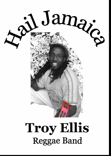 Andy Gelband of The Troy Ellis & The Hail Jamaica Reggae Band