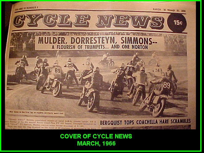 COVER OF CYCLE NEWS