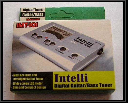 Intelli Digital Guitar and Bass Tuner