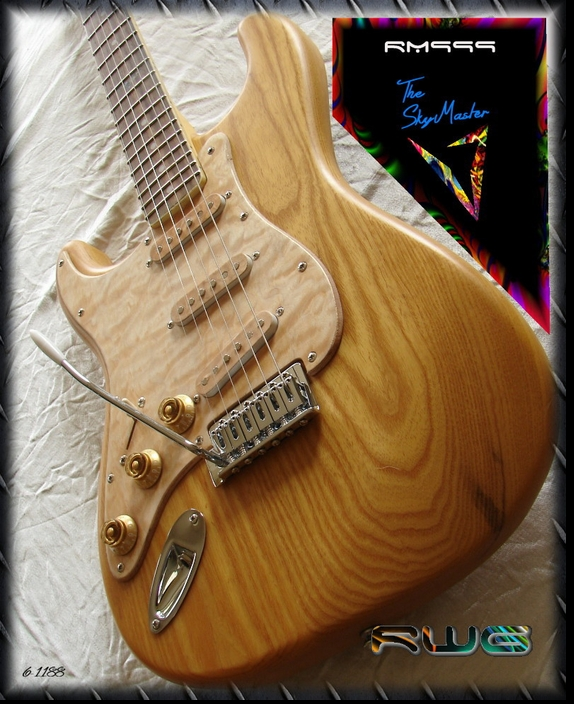 LEFT HANDED RM999 SATIN FINISHED ASH #6-1188