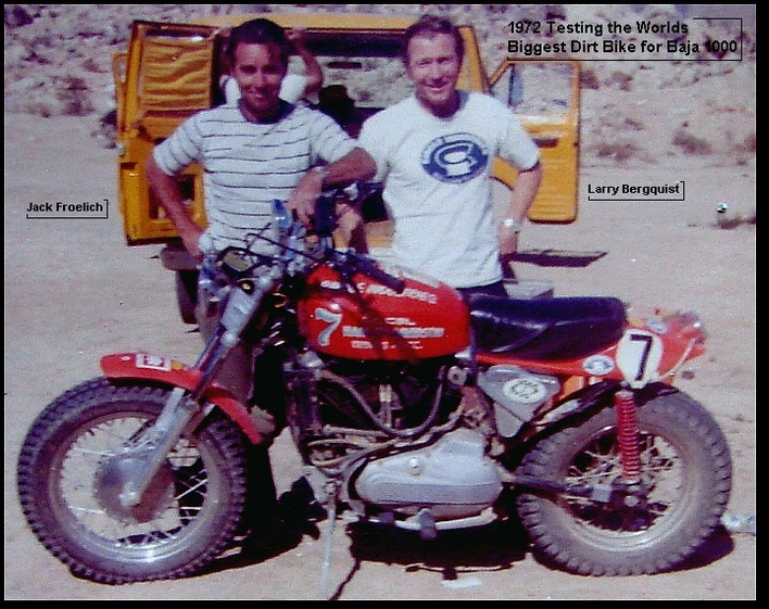 PERSONAL PHOTO - WORLDS BIGGEST DIRTBIKE
