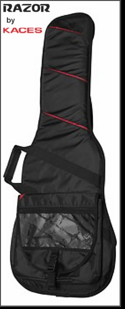 RAZOR SERIES MULTI-POCKET ELECTRIC GUITAR GIG BAG BY KACES