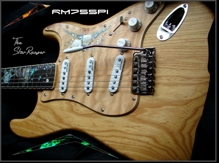 "RM755PI ""The StarRanger"" ELECTRIC GUITAR #8-37"
