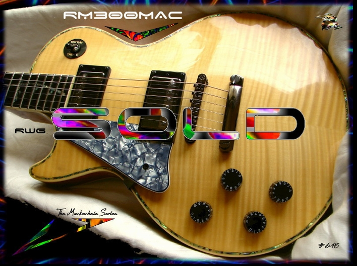 LEFT HANDED RM300MAC MACKECHNIE SERIES NATURAL FM  #6-45