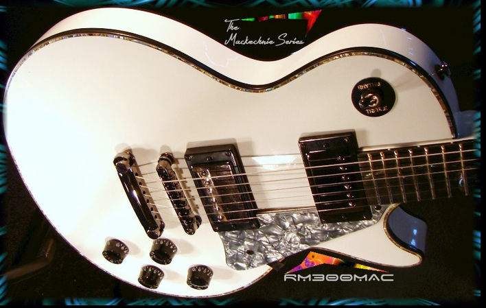 RM300MAC MACKECHNIE SERIES GLOSS WHITE #6-83