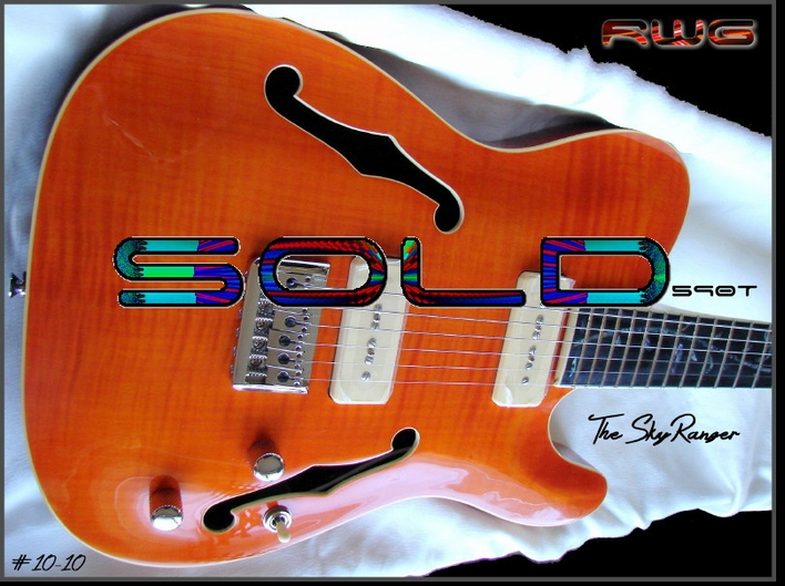 """The SkyRanger""  590T AMBER FLAME #10-10"