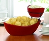 2-Tier Chip and Dip Server Set