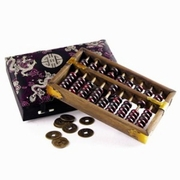 Abacus with Coins