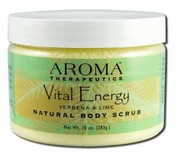Abra Therapeutics Vital Energy Body Scrub 10oz Jar