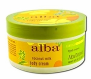 Alba Botanica Hawaiian Spa Treatments Coconut Milk Body Cream 6.5 oz.