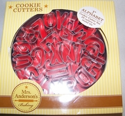 Mrs Anderson's Alphabet Cookie Cutter Set  1""