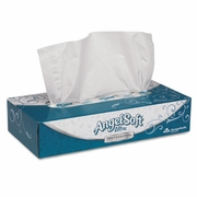 Angel Soft ps Ultra™ Premium Facial Tissue, Flat Box  (30 bx/case)