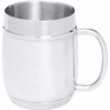 Arctic Blast� 27oz Barrel-Shaped Stainless Steel Beer Mug