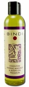 Bindi Skin Care Premium Massage Oil 8oz