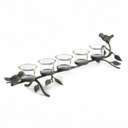 Birds on a Branch Tea Light Candle Holder