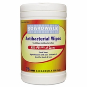 Boardwalk® Antibacterial Wipes for Hands & Face  6/cs
