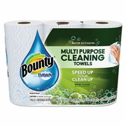 Bounty Paper Towels with Dawn, 2-Ply, 11 x 14, 49shts/Roll, 24/Carton