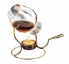 Brandy Warmer with Tea Light and Glass Snifter