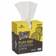 Brawny FLAX 900 Heavy Duty Cloths, 9 x 16 1/2, White, 72/box