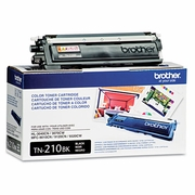 Brother TN210BK Toner, 2200 Page-Yield, Black