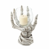 Candle Holder Skeleton Hand