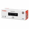 Canon 3484B001 (CRG-125) Toner, 1600 Page-Yield, Black