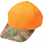 Casual Outfitters™ Orange Hunter's Cap with Invisible® Camo Bill