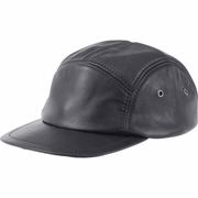 Casual Outfitters™ Solid Genuine Leather Cap
