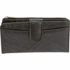 Casual Outfitters™ Solid Genuine Leather Ladies' Wallet