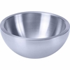 """Chef's Secret® 9-1/2"""" Double-Walled Stainless Steel Salad Bowl"""