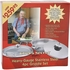 Chef's Secret®   Heavy-Gauge Stainless Steel 4pc Griddle Set