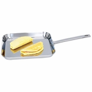 """Chef's  Secret Stainless Steel Square Griddle   11"""""""