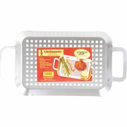 Chefmaster™ Stainless Steel BBQ Grill Tray 14-1/8 long