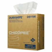 Chicopee Durawipe Light Duty Industrial Wipers, 8.8 x 12.8, White, 152/Box,
