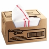 Chix®  Foodservice White/Red Towels  150/carton