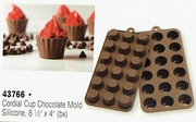 Chocolate Mold Silicone Cordial Cup