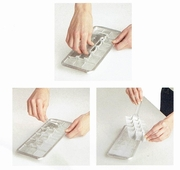Ice Cube Tray Classic Aluminum Kitchen