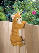Climbing Cat Figurine