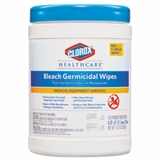 Clorox®  Healthcare®  Clinical Surfaces Germicidal Wipes 150 wipes/canister 6ct/case