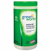 Clorox Green Works Natural Commercial Solutions Wipes  6/cs