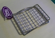 Mesh Grid Chrome Soap Dish