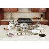Cookware Set 12-Element Stainless Steel 28pc