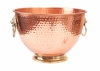 Copper Plated Lion's Head Beverage Cooler  5 gal.