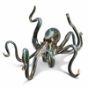 Deep-Sea Delight Octopus Brass Sculpture
