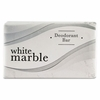 Dial White Marble Deodorant  #3/4 Hotel Size Bar Soap