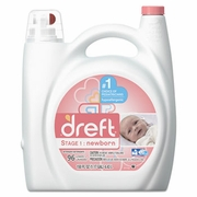 Dreft­® Ultra Laundry Detergent, Liquid, Original Scent, 150 oz Bottle 4/carton